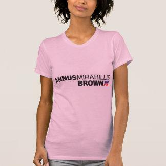 Annus Mirabillis Brown Shirt