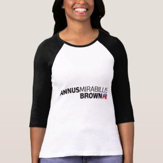 Annus Mirabillis Brown Tshirts