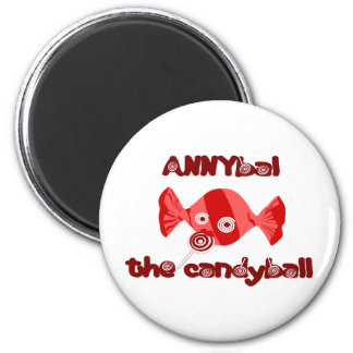 annyball candy ball 2 inch round magnet