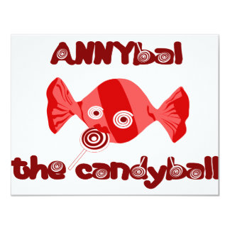 annyball candy ball card