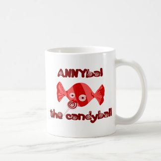 annyball candy ball coffee mug