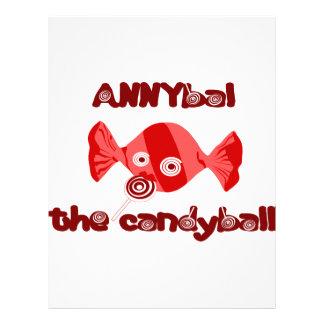 annyball candy ball letterhead