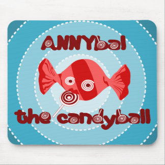 annyball candy ball mouse pad