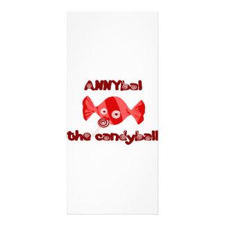 annyball candy ball rack card