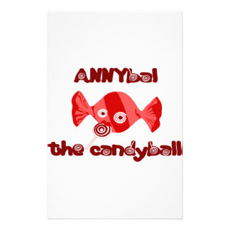 annyball candy ball stationery