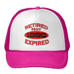 Año 1990 del retiro gorra
