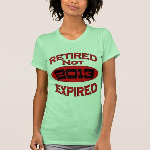 Año 2013 del retiro camiseta