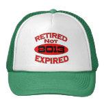 Año 2013 del retiro gorras