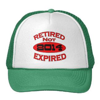 Año 2014 del retiro gorras de camionero