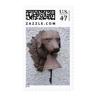 Año al aire libre de Bell del perro del franqueo Sello