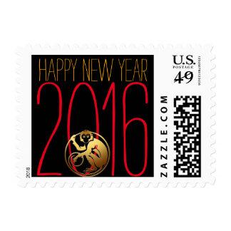 Año Año Nuevo chino y vietnamita de 2016 del mono Sellos