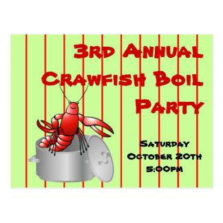 Año anual de encargo de los cangrejos del fiesta r