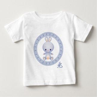 Año chino adornado del conejo polera