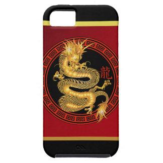 Año chino adornado del dragón funda para iPhone SE/5/5s