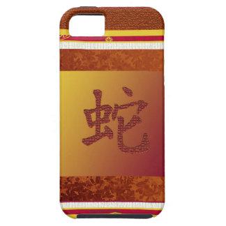 año chino de la muestra de la serpiente iPhone 5 carcasa
