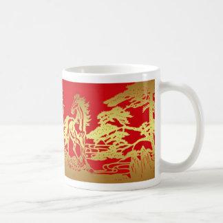 Año chino de la taza del caballo