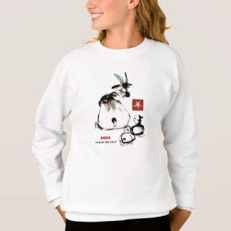 Año chino de las camisetas de encargo del regalo