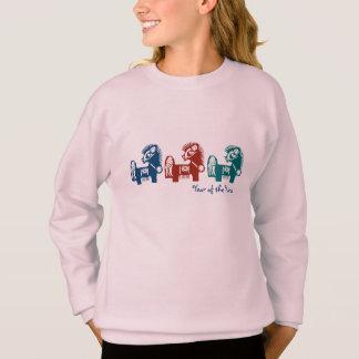 Año chino de las camisetas del caballo