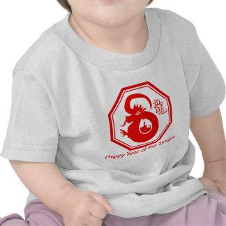 Año chino de las camisetas del dragón, regalos