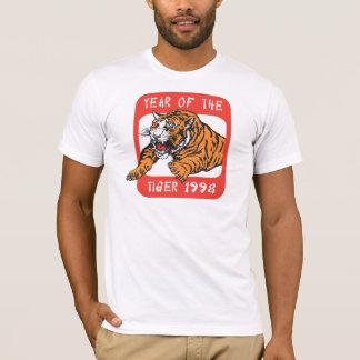 Año chino de las camisetas del tigre 1998