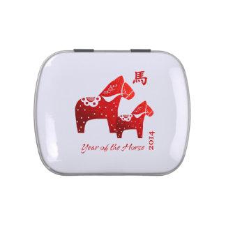 Año chino de las latas del Belly de la jalea del r Latas De Dulces