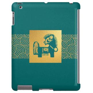 Año chino de los casos del iPad 2/3/4 del regalo d