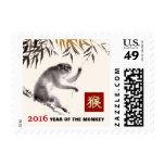 Año chino de los sellos 2016 del mono