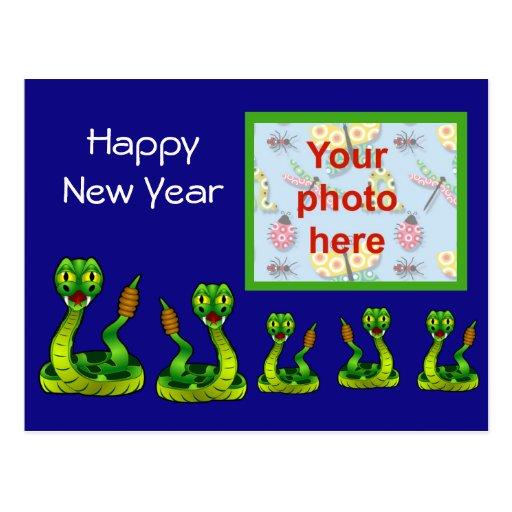 Año chino de Tet del vietnamita del Año Nuevo de l Tarjeta Postal
