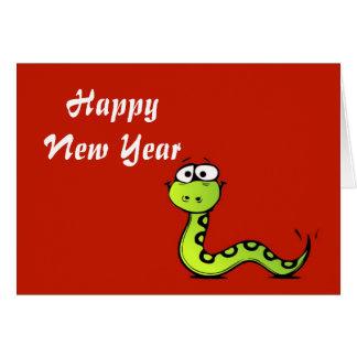 Año chino de Tet del vietnamita del Año Nuevo de Tarjeta De Felicitación