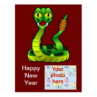 Año chino de Tet del vietnamita del Año Nuevo de Postal