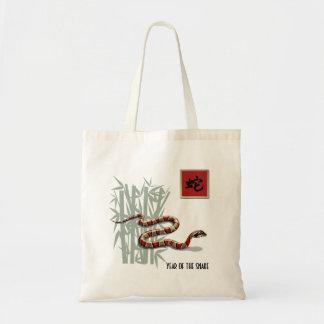 Año chino del bolso del regalo de la serpiente