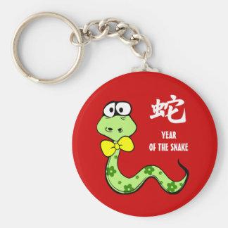 Año chino del llavero del regalo de la diversión d