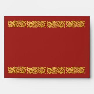 Año chino del Na Lai de Hong Bao de la serpiente e Sobres
