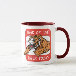 Año chino del regalo 1950 del tigre