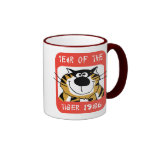 Año chino del regalo 1986 del tigre taza