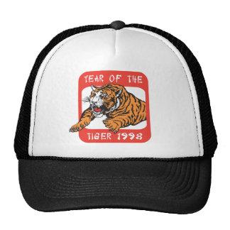 Año chino del regalo 1998 del tigre gorros