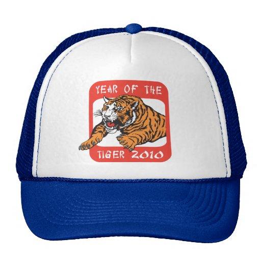 Año chino del regalo 2010 del tigre gorras
