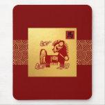 Año chino del regalo Mousepad del caballo Tapetes De Ratones
