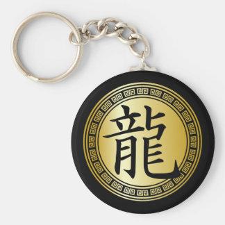 Año chino del símbolo del dragón BGB Llavero Personalizado