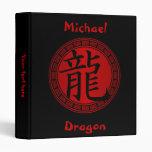 Año chino del símbolo del dragón BRB