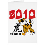 Año chino del tigre 2010 tarjeton