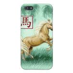 Año chino del zodiaco de la caja del teléfono del  iPhone 5 protectores