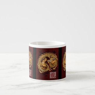 Año chino del zodiaco de la taza del café express  taza espresso