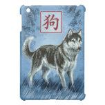 Año chino del zodiaco del caso del iPad del perro
