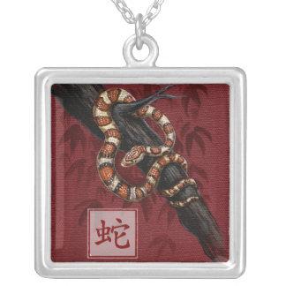 Año chino del zodiaco del collar de la serpiente