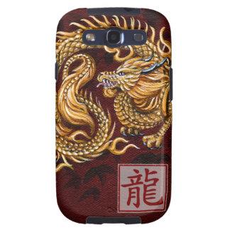 Año chino del zodiaco del dragón galaxy s3 carcasa