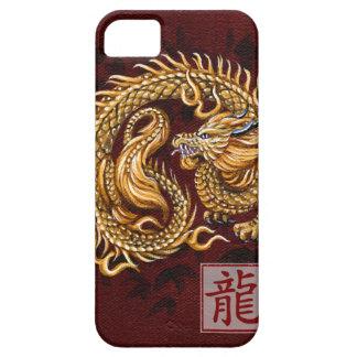 Año chino del zodiaco del dragón iPhone 5 fundas