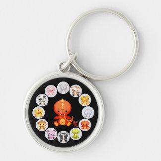 Año chino del zodiaco del llavero 2012 del dragón