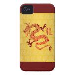 Año chino rojo del dragón 2012