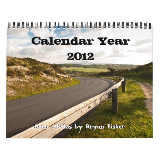 Año civil 2012, Bryan Fisher Calendarios